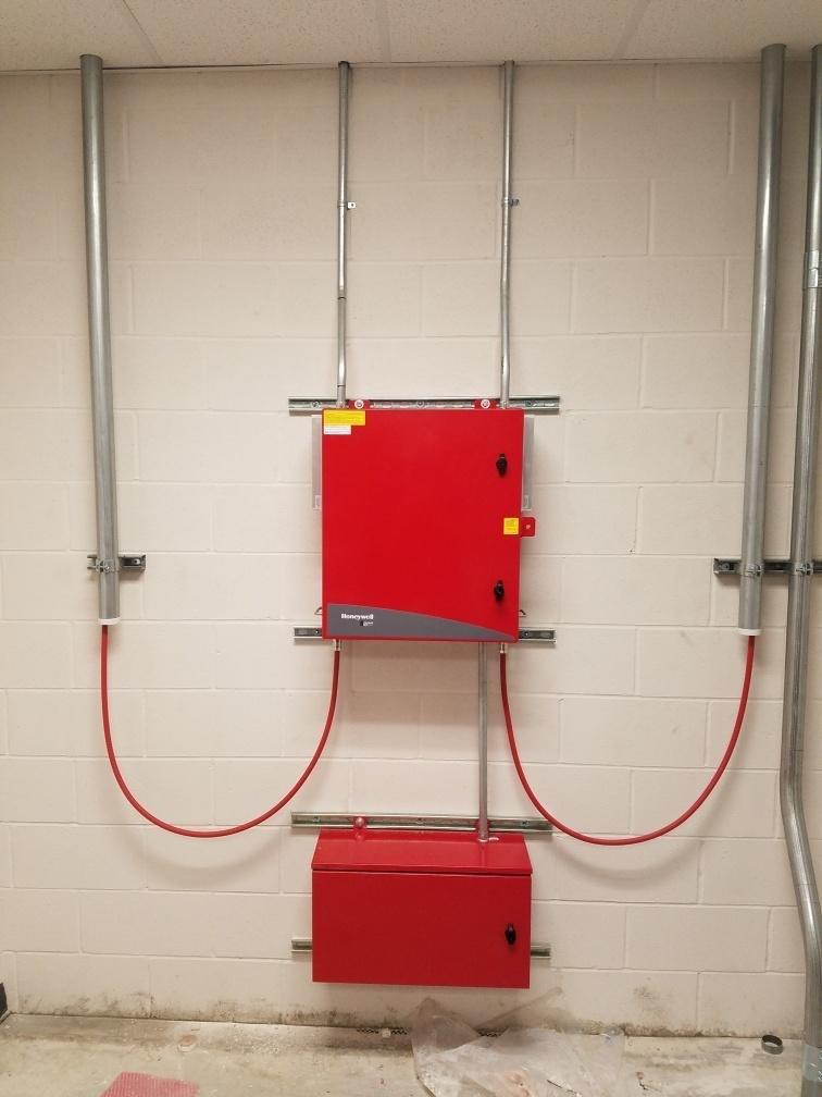 Honeywell BDA System Installed